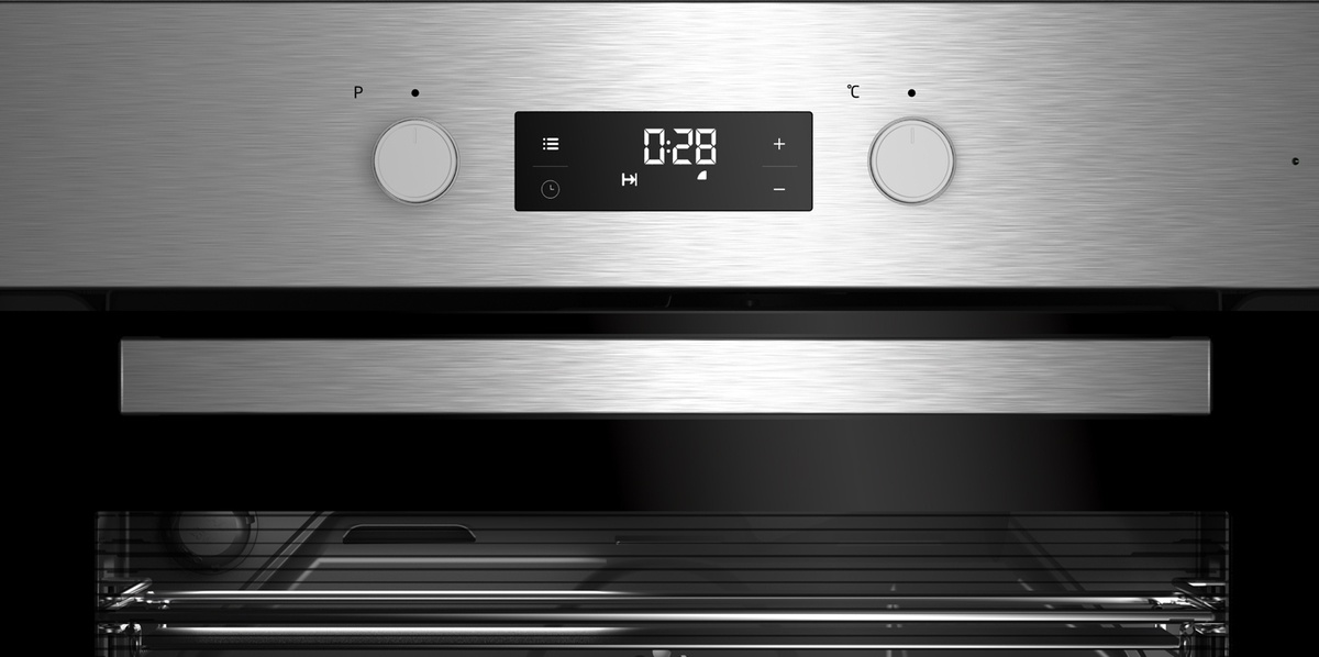 beko bim22301x backofen elektro a 71 l silber simplesteam reinigungsfunktion 3d kochen. Black Bedroom Furniture Sets. Home Design Ideas