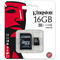 Kingston MicroSDHC 16GB CL10 SDC10G2
