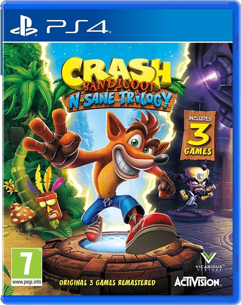 Activision Crash Bandicoot N.Sane Trilogy hra PS4