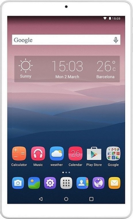 Alcatel One Touch PIXI 3(10) WIFI White