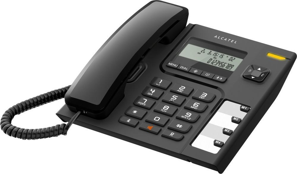 ALCATEL Temporis 56 tel LCD Black