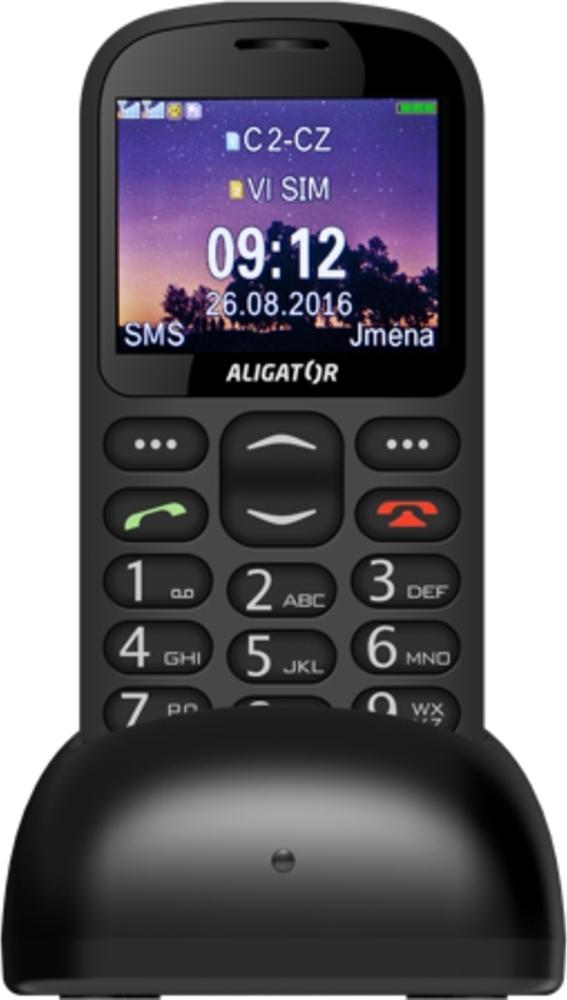 Aligator A880 GPS Senior Black