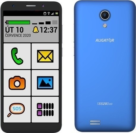 Aligator S5520 Duo 16GB Senior Blue