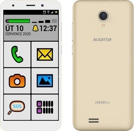 Aligator S5520 Duo 16GB Senior Gold