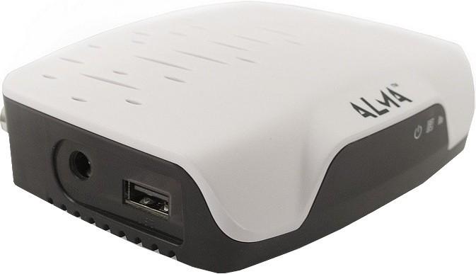 Alma DVB-T2 HD přijímač 2751 bílý