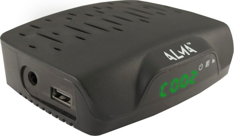 Alma DVB-T2 HD přijímač 2760 černý