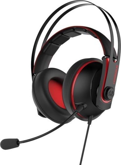 Asus Cerberus V2 gaming headset Red
