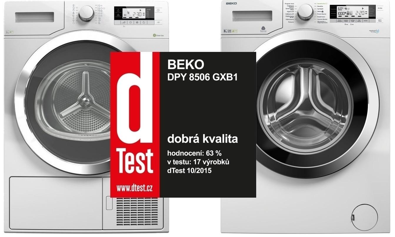 Set Beko DPY 8506 GXB1 + Beko WMY 81243 CS PTLMB1