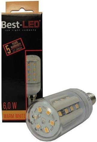 Best-LED E14 6W tep.bílá BL-C0-6-WW-E14