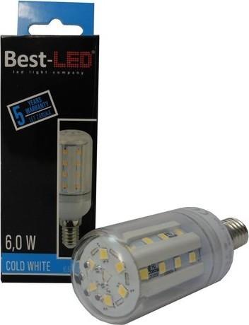 Best-LED E27 6W stud.bílá BL-C0-6-CW-E27