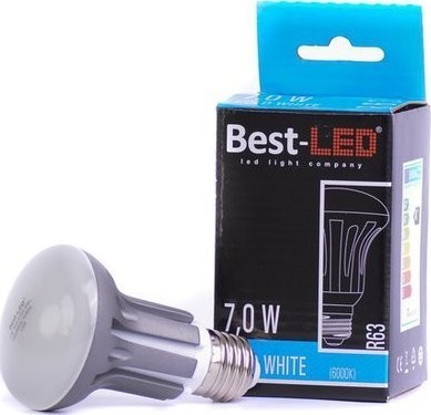 Best-LED E27 7W studená bílá BL-R63-7-CW