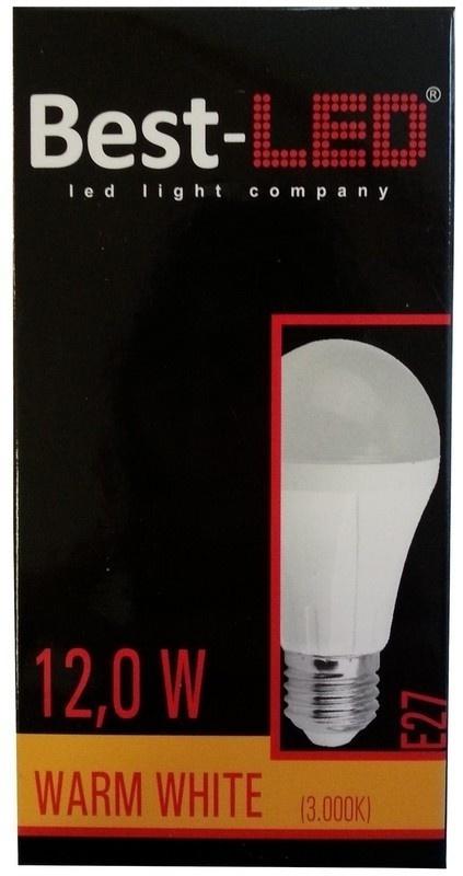 Best-LED E27 12W teplá bílá BE27-12-1100W
