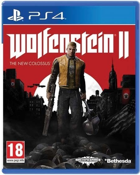 Bethesda Wolfenstein II The New Colossus hra PS4