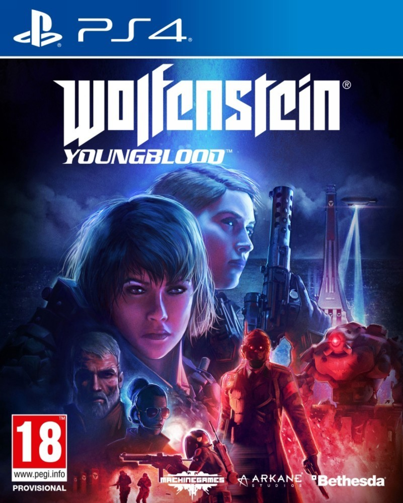 Bethesda Wolfenstein Youngblood hra PS4