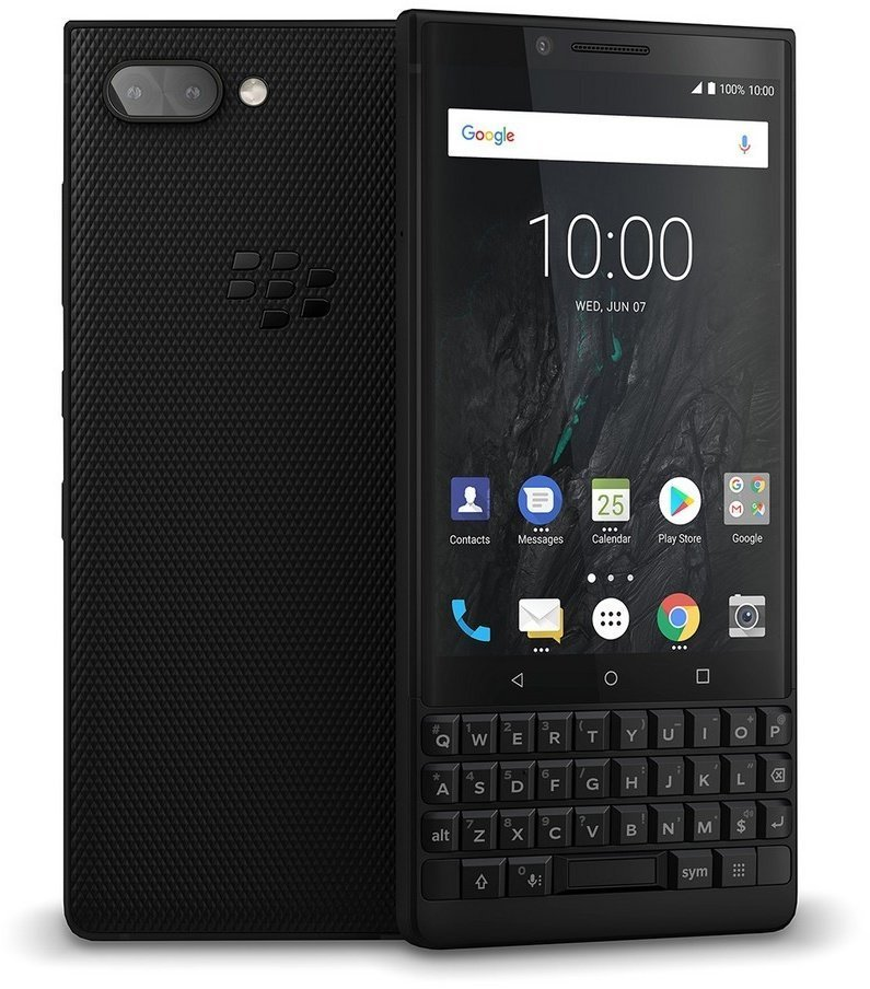 BlackBerry Key 2 Athena Black