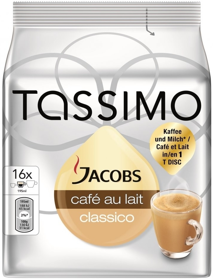 Bosch T-Disc Jacobs Cafe Au Lait