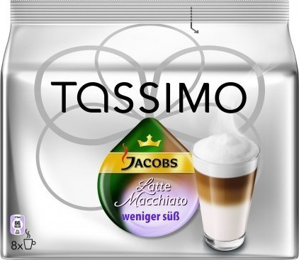 Bosch T-Disc Latte Macchiato Less Sweet