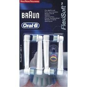 Braun ORAL B EB 20 - 4 (17-4) náhradní kartáčky