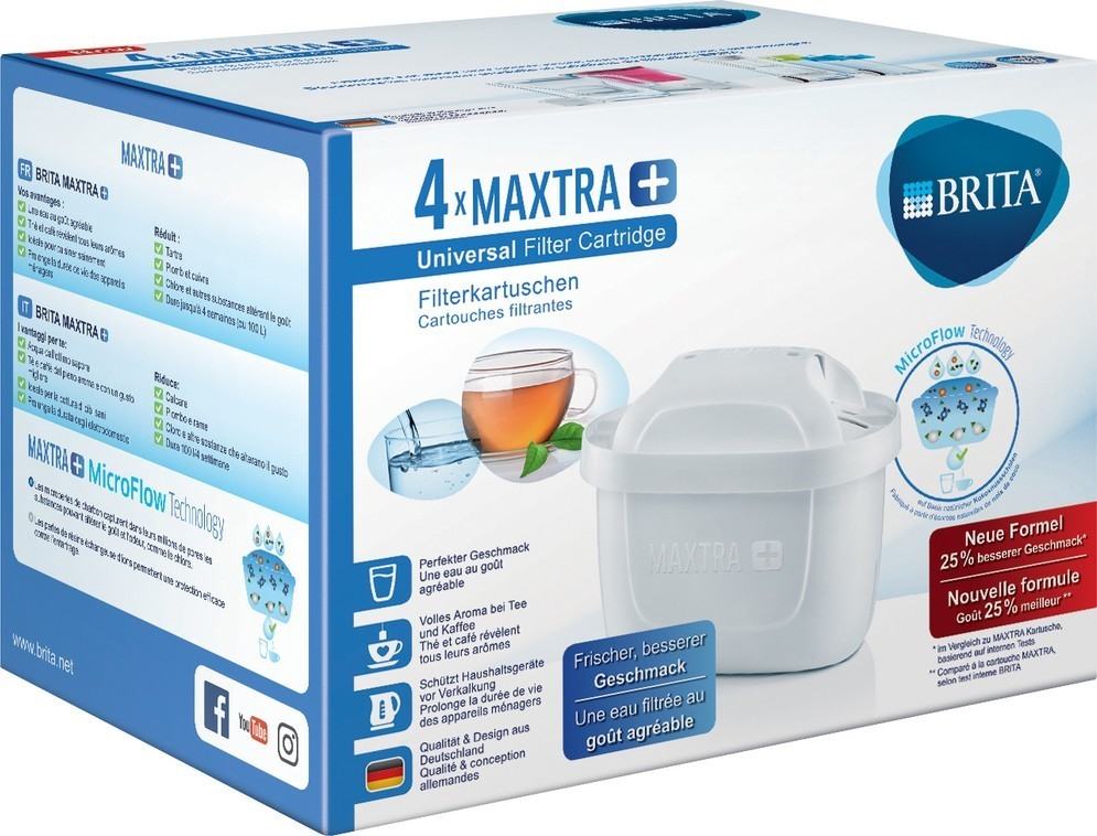 Brita MAXTRAPLUS 4 Pack filtry