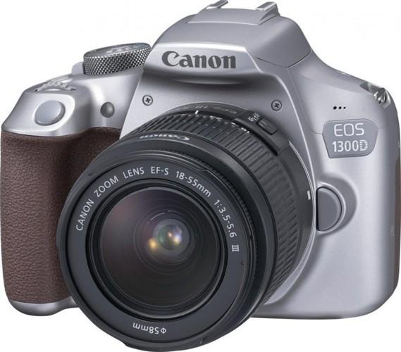 Canon EOS 1300D silver + 18-55 DC III