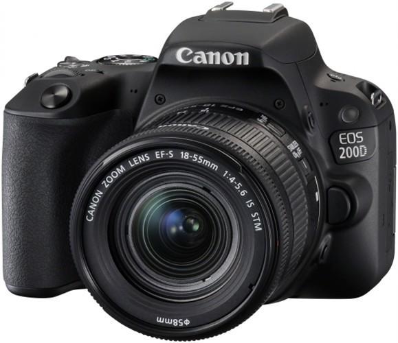 Canon EOS 200D Black + EF-S 18-55 f