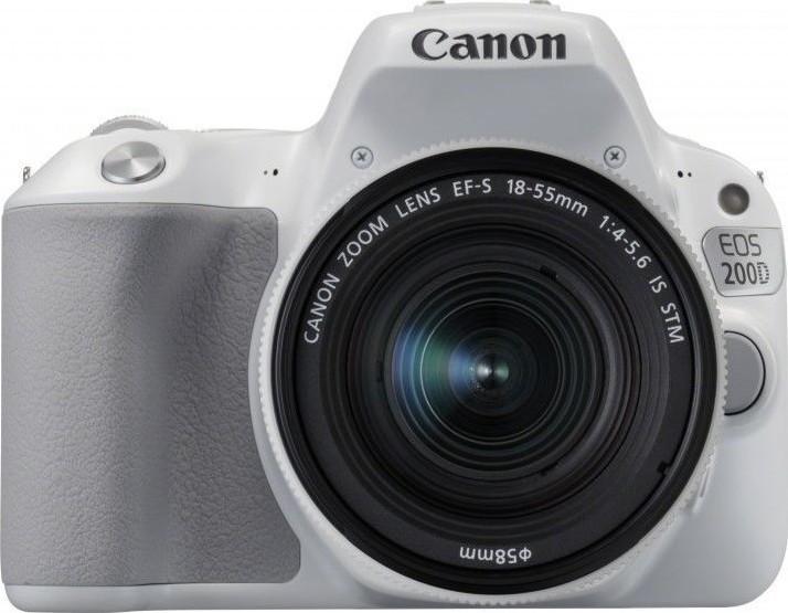 Canon EOS 200D white + EF-S 18-55