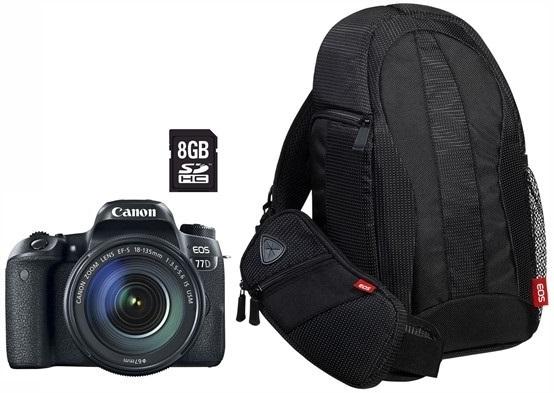 Canon EOS 77D + 18-135 IS USM ValueUpKit