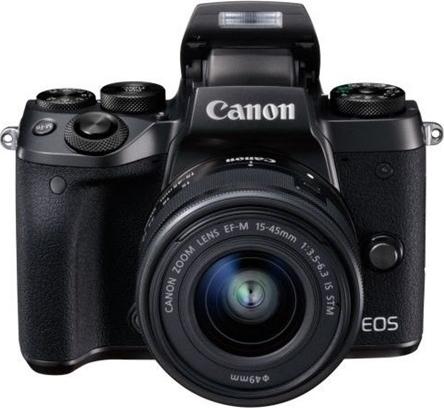 Canon EOS M5 Black + 15-45mm STM