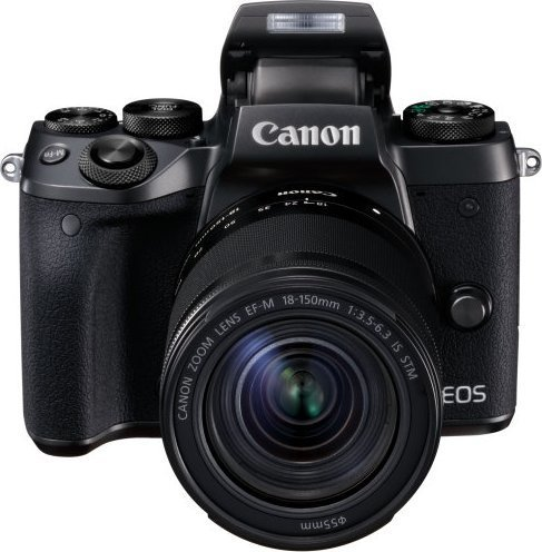 Canon EOS M5 Black + EF-M 18-150mm