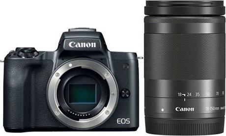 Canon EOS M50 Black + EF-M 18-150