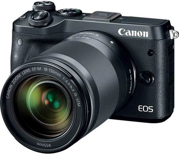 Canon EOS M6 Black + EF-M 18-150 IS STM
