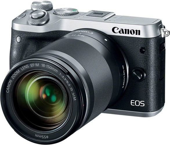 Canon EOS M6 Silver + EF-M 18-150 IS STM