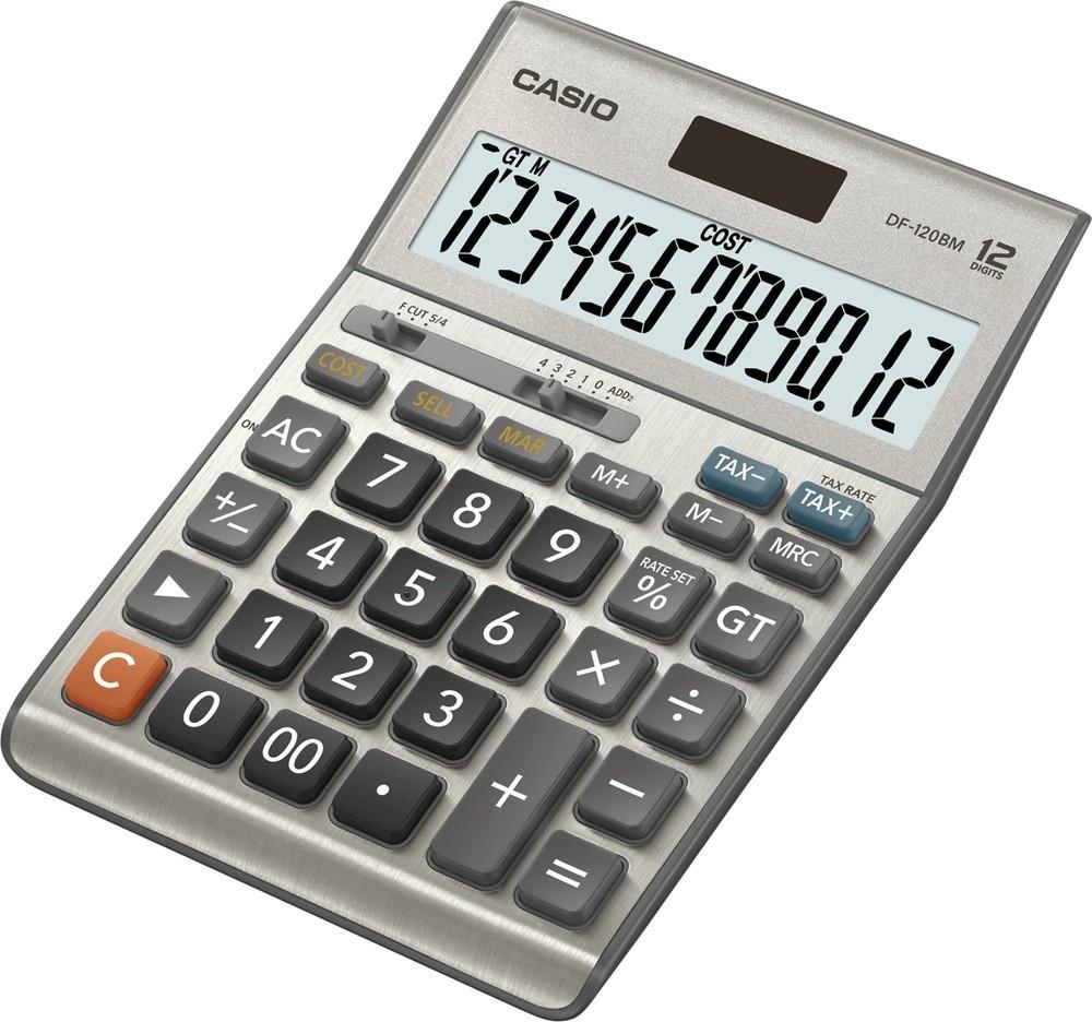 Casio DF 120 B MS
