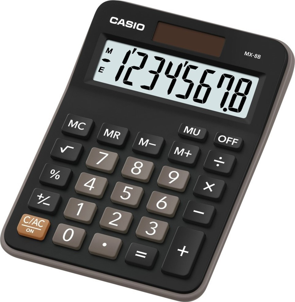 Casio MX 8 B BK