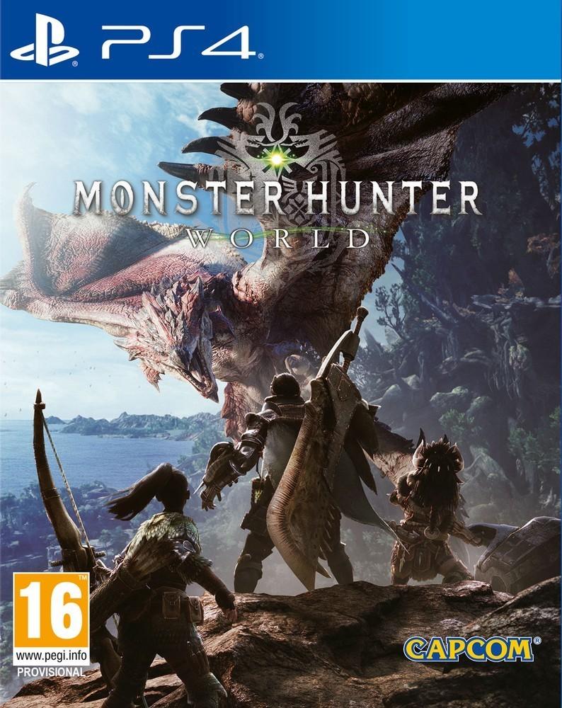 CENEGA MONSTER HUNTER: World hra PS4
