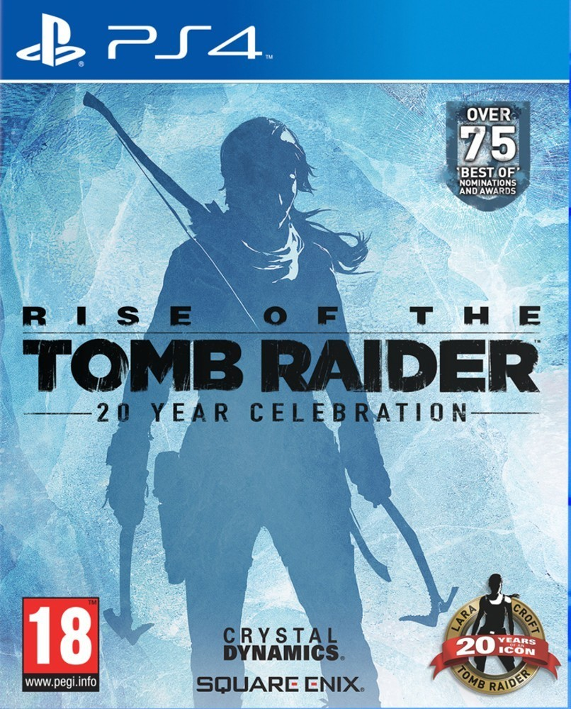 CENEGA RISE OF THE TOMB RAIDER 20 YEAR hra PS4