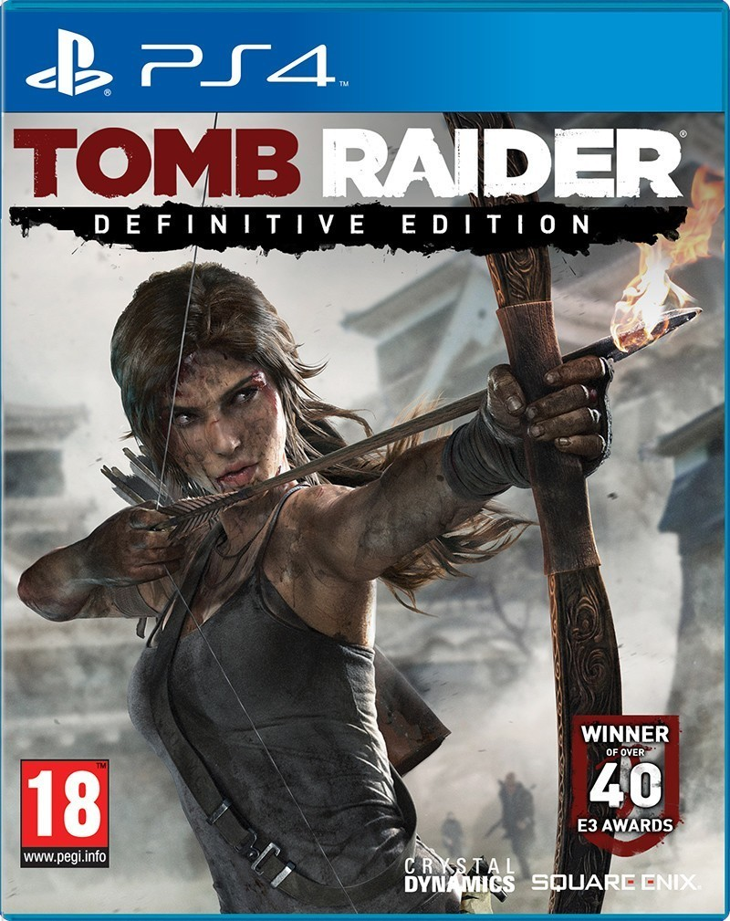 CENEGA TOMB RAIDER-THE DEFINITIVE EDIT. hra PS4