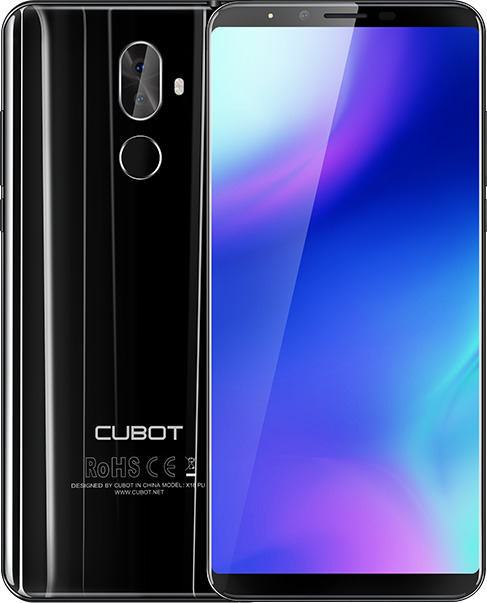 CUBOT X18 PLUS Dual SIM LTE 64 GB černý