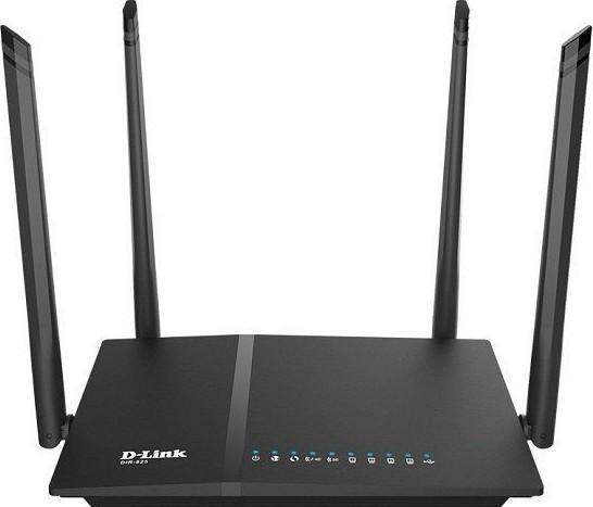D-Link WiFi AC1200 Gbit router (DIR-825)