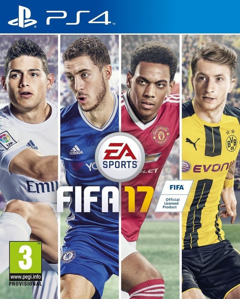 EA FIFA 17 hra PS4