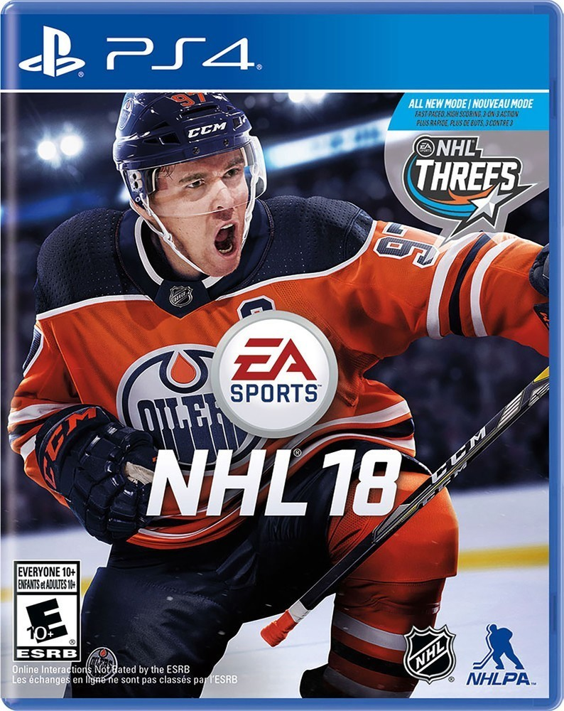 EA NHL 18 hra PS4