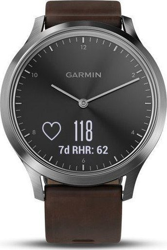 Garmin vívomove Optic Premium Silver (L)