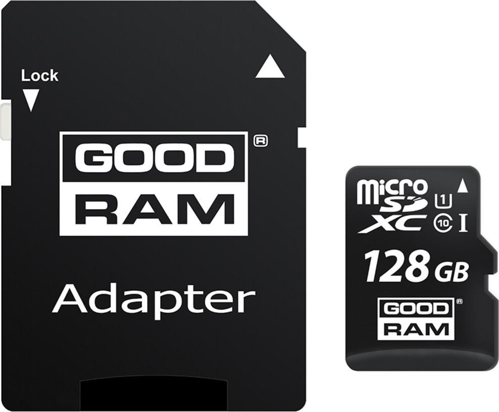 Goodram MicroSDXC 128GB CL10 UHS1 + adaptér