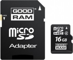 Goodram MicroSDXC 64GB CL10 UHS1 + adaptér