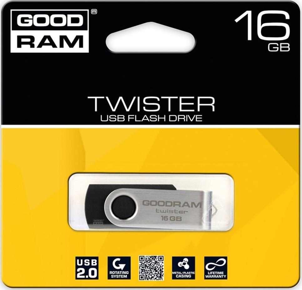 Goodram USB FD 16GB Twister USB 2.0