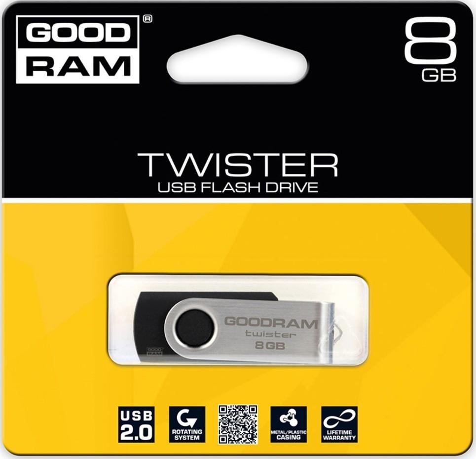 Goodram USB FD 8GB Twister USB 2.0