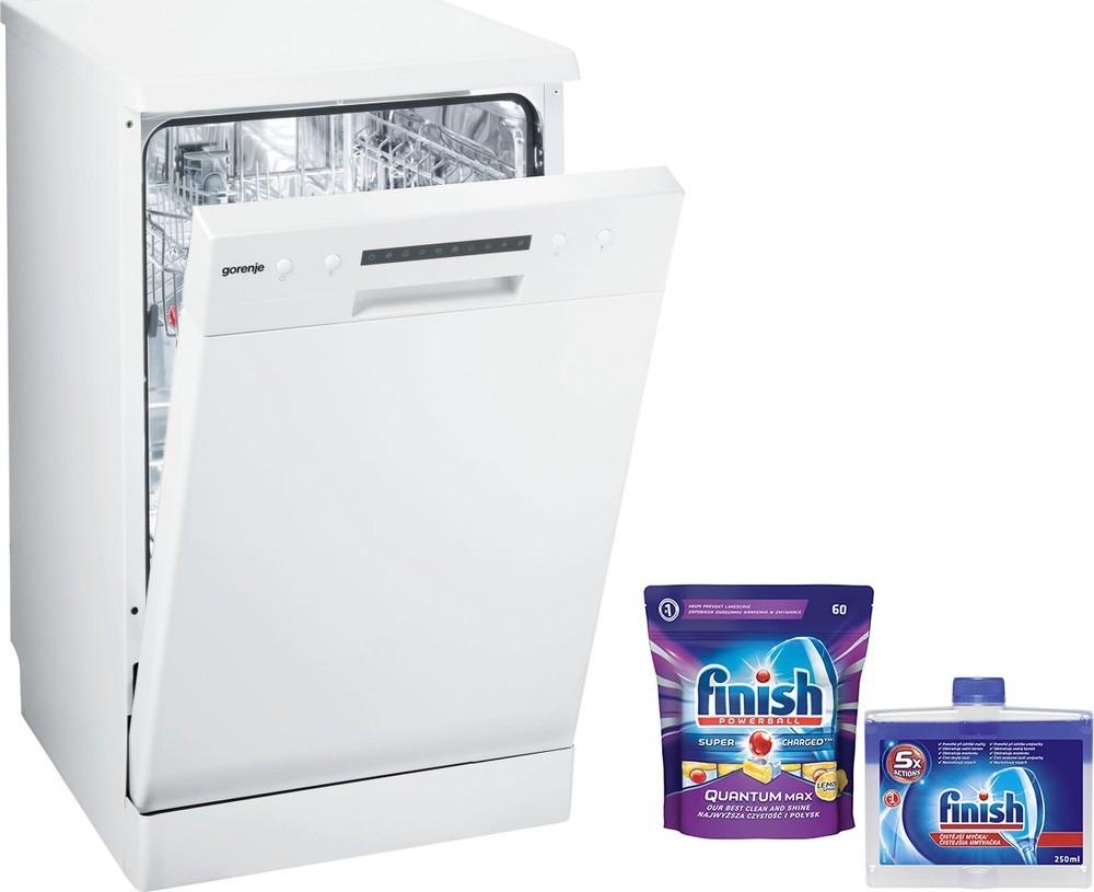 Gorenje GS 52115W + 60 tablet + čistič myčky