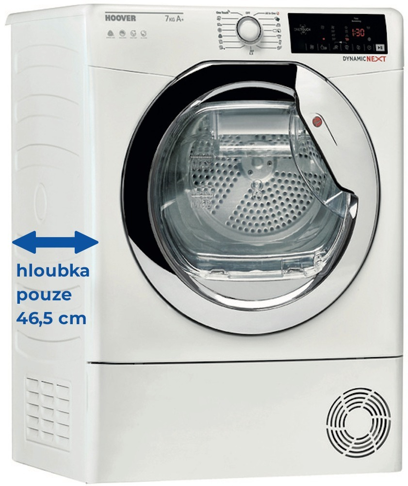 Hoover DXW4 H7A1CTEX-S + 5 let záruka