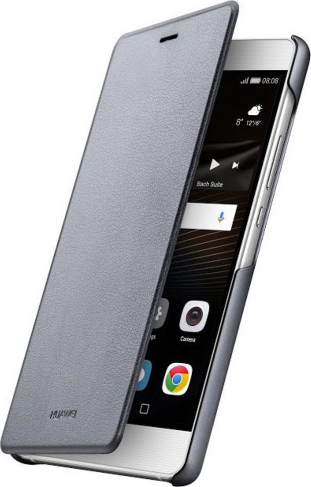 Huawei Flipové pouzdro pro P9 Lite Grey