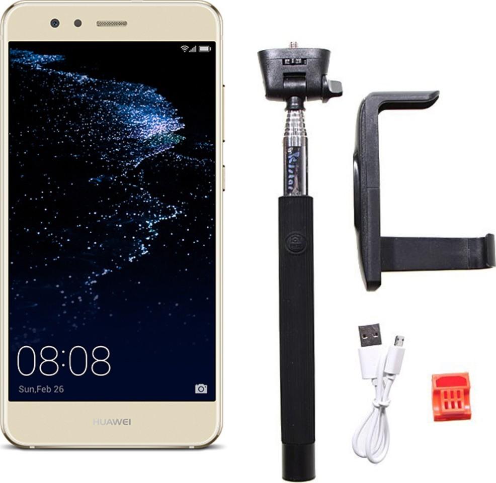 Huawei P10 Lite Gold + selfie tyč